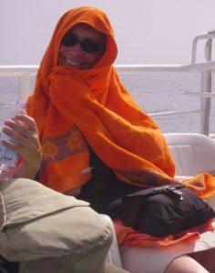 Sisterhood of the Traveling Orange Towel